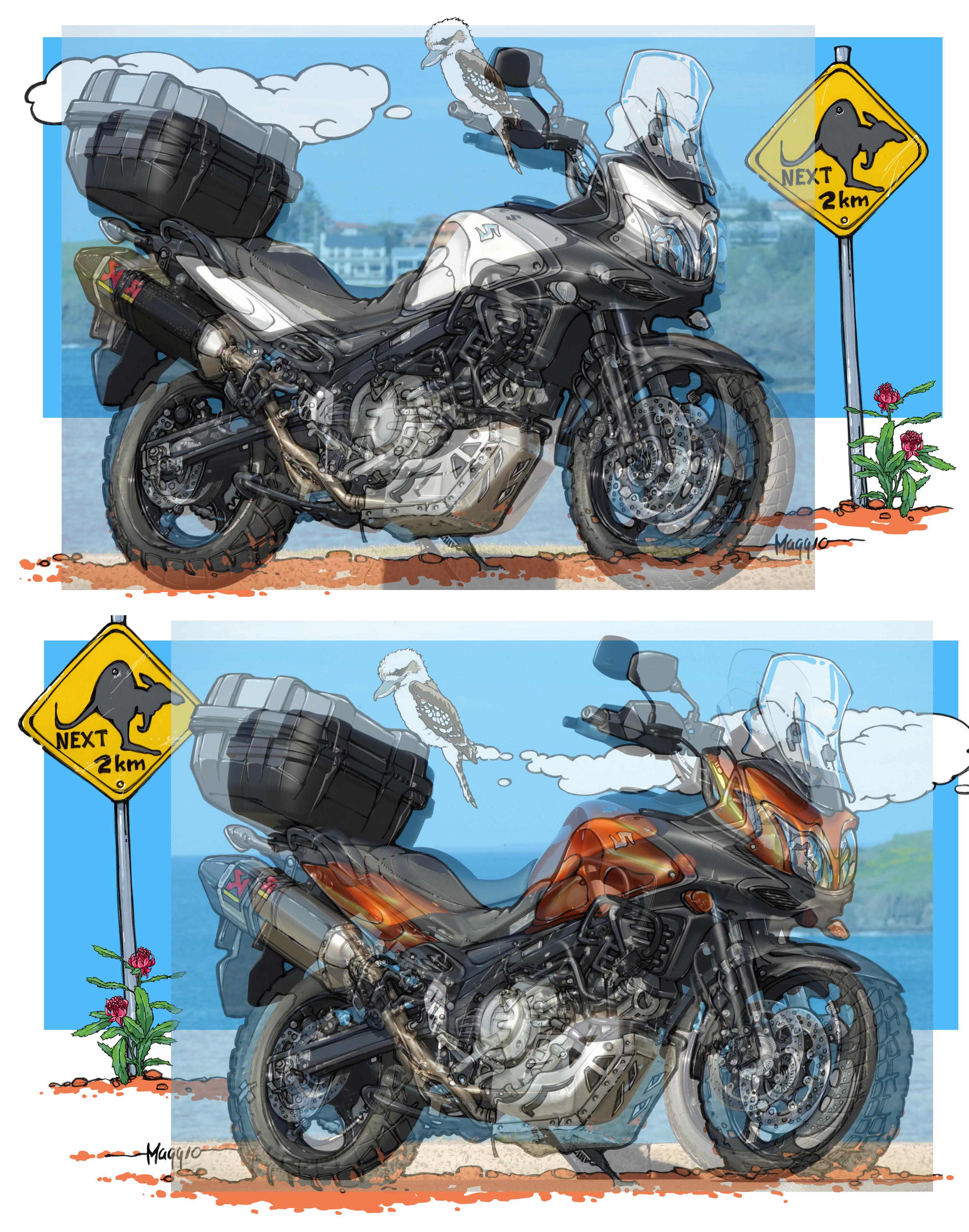 DID Kettensatz VX G/&B Serie Endlos Suzuki DL 650 V-Strom JS1B1 WVB1 2004-06
