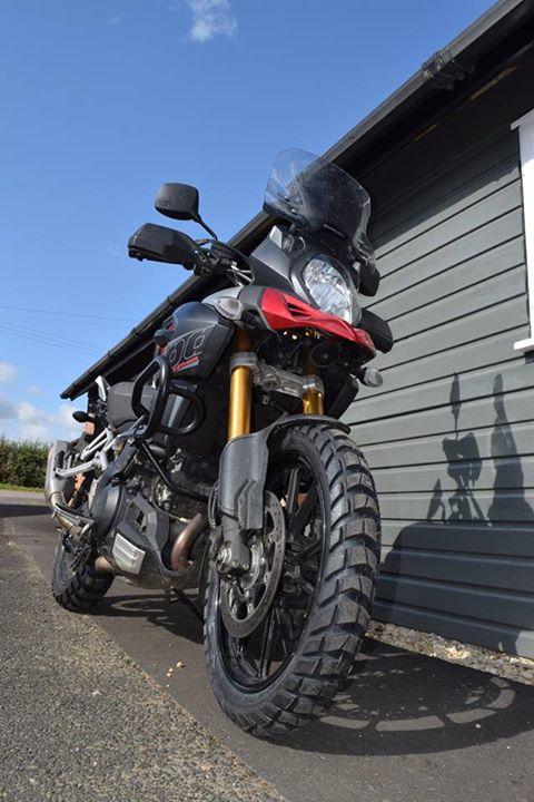 Continental ContiTrail Attack 2-Rear Dual Sport Motorcycle Tire for Suzuki V-Strom 1000 DL1000 2012 150//70V-17 69V