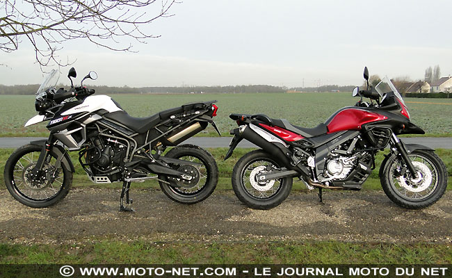 duel tiger 800 vs v strom 650 xt fighters or smoothies a pair of stroms. Black Bedroom Furniture Sets. Home Design Ideas