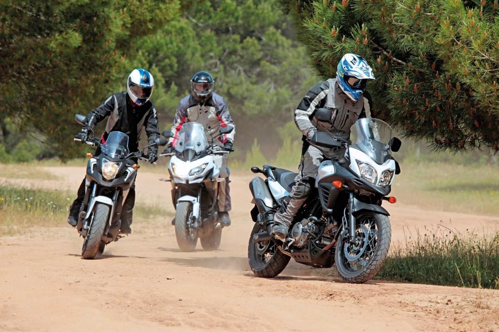 Httpwwwmotociclismopt Comparative Suzuki V Strom Abs Xt